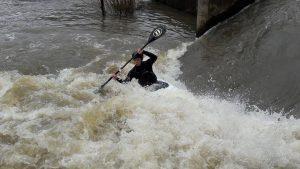 Tristan Favennec dans la vanne